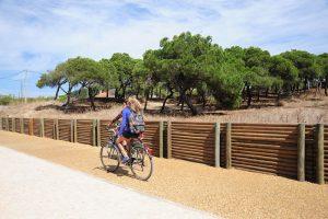 bike lane lisbon trafaria