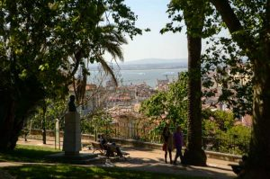 view from jardim do torel